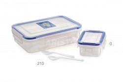 LOCK & FRESH LUNCH PACK 210  (WITH CONTAINER)