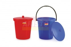 GARBAGE BUCKET WITH LID & WITHOUT LID