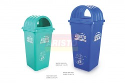 WASTE BINS WITH DOME LID