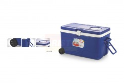 ICE BOX 60 LTR WITH WHEEL, VENT LID & LONG HANDLE